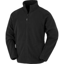 vaatteet Miehet Fleecet Result Genuine Recycled R907X Black