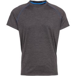 vaatteet Miehet Lyhythihainen t-paita Trespass  Dark Grey Marl