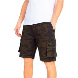 vaatteet Miehet Shortsit / Bermuda-shortsit Brave Soul  Khaki