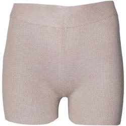 vaatteet Naiset Shortsit / Bermuda-shortsit Brave Soul  Taupe