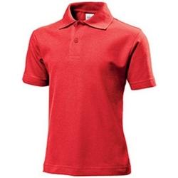 vaatteet Lapset T-paidat & Poolot Stedman  Scarlet Red