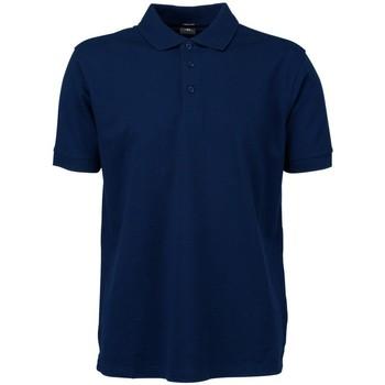 vaatteet Miehet Lyhythihainen poolopaita Tee Jays TJ7200 Navy Blue