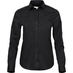 vaatteet Naiset Paitapusero / Kauluspaita Tee Jays TJ4025 Black