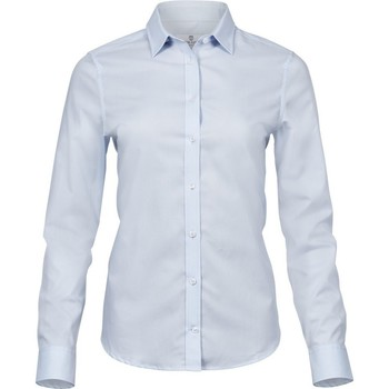 vaatteet Naiset Paitapusero / Kauluspaita Tee Jays TJ4025 Light Blue