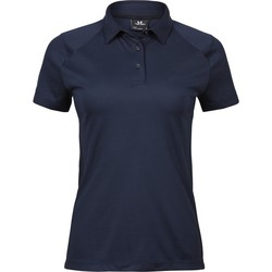 vaatteet Naiset Lyhythihainen poolopaita Tee Jays TJ7201 Navy Blue