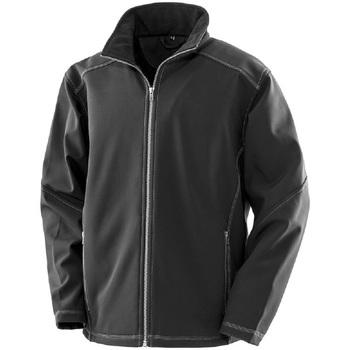vaatteet Miehet Takit Result R455M Black