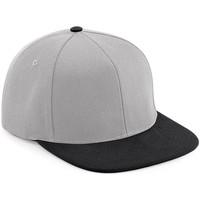 Asusteet / tarvikkeet Lippalakit Beechfield B661 Grey/Black