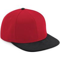 Asusteet / tarvikkeet Lippalakit Beechfield B661 Red/Black