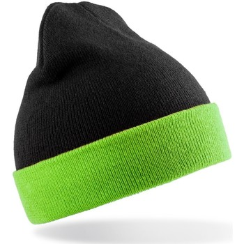 Asusteet / tarvikkeet Pipot Result Genuine Recycled RC930X Black/Lime Green