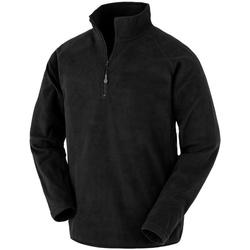 vaatteet Miehet Fleecet Result Genuine Recycled R905X Black