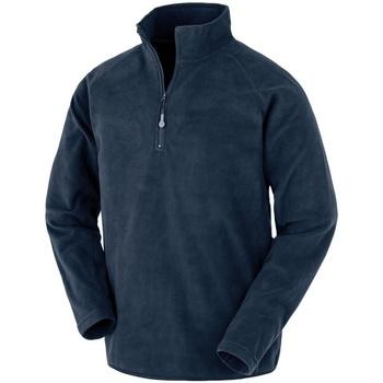 vaatteet Miehet Fleecet Result Genuine Recycled R905X Navy