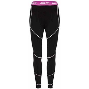 vaatteet Naiset Legginsit Atak  Black