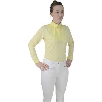 vaatteet Naiset Paitapusero / Kauluspaita Hyfashion  Yellow