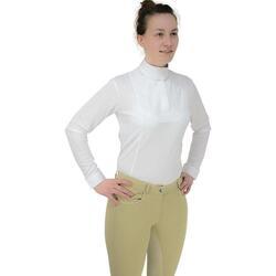 vaatteet Naiset T-paidat pitkillä hihoilla Hyfashion  White