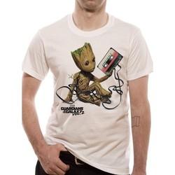 vaatteet Lyhythihainen t-paita Guardians Of The Galaxy 2  White