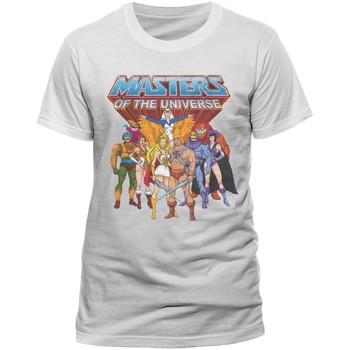 vaatteet Lyhythihainen t-paita Masters Of The Universe  White