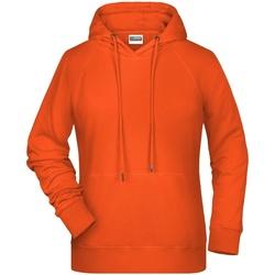 vaatteet Naiset Svetari James And Nicholson  Orange