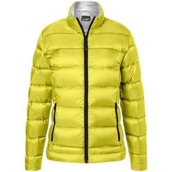 vaatteet Naiset Takit James And Nicholson  Yellow/Silver
