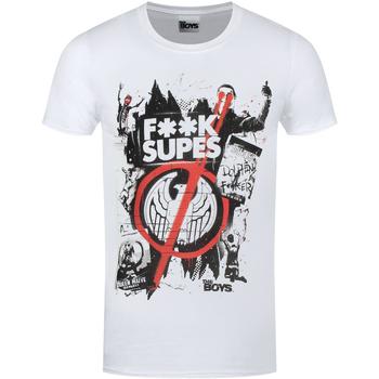 vaatteet Lyhythihainen t-paita The Boys  White
