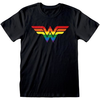 vaatteet Lyhythihainen t-paita Wonder Woman  Black