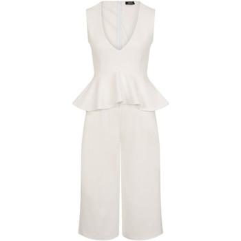 vaatteet Naiset Jumpsuits / Haalarit Girls On Film  White