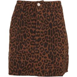 vaatteet Naiset Hame Girls On Film  Leopard Print