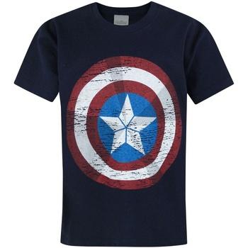 vaatteet Lapset Lyhythihainen t-paita Avengers  Blue
