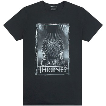 vaatteet Miehet Lyhythihainen t-paita Game Of Thrones  Black