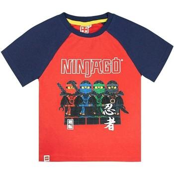 vaatteet Pojat Lyhythihainen t-paita Lego  Red