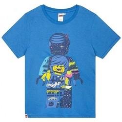 vaatteet Pojat Lyhythihainen t-paita Lego  Blue