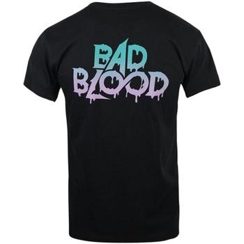 vaatteet Miehet Lyhythihainen t-paita Blood On The Dance Floor  Black