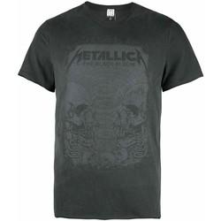 vaatteet Miehet Lyhythihainen t-paita Amplified  Grey