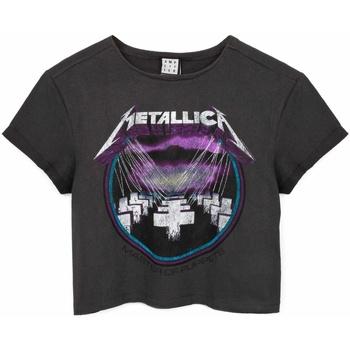 vaatteet Naiset Lyhythihainen t-paita Amplified  Grey