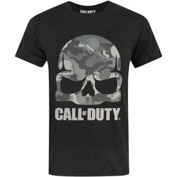 vaatteet Miehet Lyhythihainen t-paita Call Of Duty  Black
