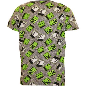vaatteet Pojat Lyhythihainen t-paita Minecraft  Green