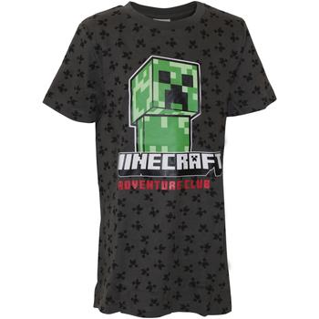 vaatteet Pojat Lyhythihainen t-paita Minecraft  Grey