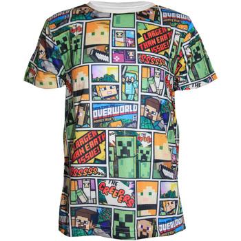 vaatteet Pojat Lyhythihainen t-paita Minecraft  Multicoloured