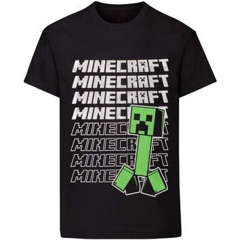 vaatteet Pojat Lyhythihainen t-paita Minecraft  Black
