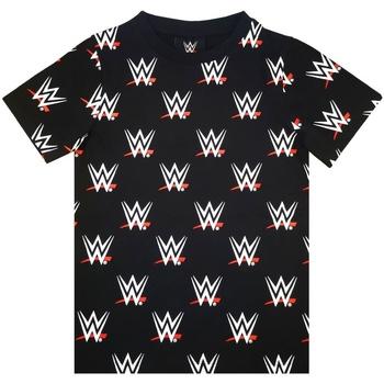vaatteet Pojat Lyhythihainen t-paita Wwe  Black