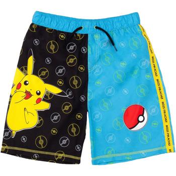 vaatteet Pojat Uima-asut / Uimashortsit Pokemon  Black/Blue