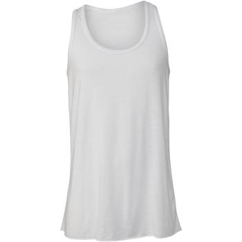 vaatteet Lapset Hihattomat paidat / Hihattomat t-paidat Bella + Canvas BE219 White