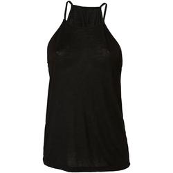 vaatteet Naiset Hihattomat paidat / Hihattomat t-paidat Bella + Canvas BE8809 Black