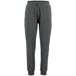 vaatteet Miehet Verryttelyhousut Kustom Kit KK933 Dark Grey Marl