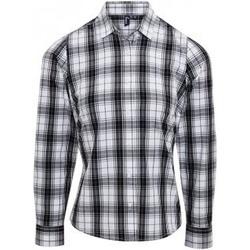 vaatteet Naiset Paitapusero / Kauluspaita Premier PR354 Black/White