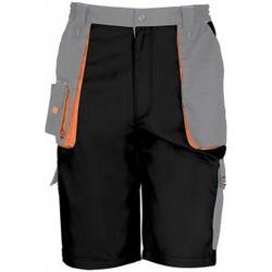 vaatteet Miehet Shortsit / Bermuda-shortsit Result RS319 Black/Grey