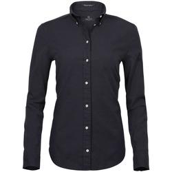 vaatteet Naiset Paitapusero / Kauluspaita Tee Jays TJ4001 Black