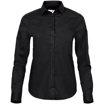 vaatteet Naiset Paitapusero / Kauluspaita Tee Jays T4025 Black