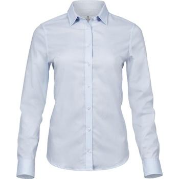 vaatteet Naiset Paitapusero / Kauluspaita Tee Jays T4025 Light Blue