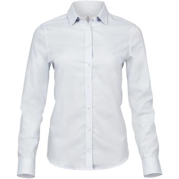 vaatteet Naiset Paitapusero / Kauluspaita Tee Jays T4025 White