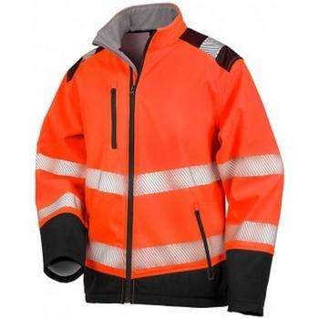 vaatteet Takit Result R476X Fluorescent Orange/Black